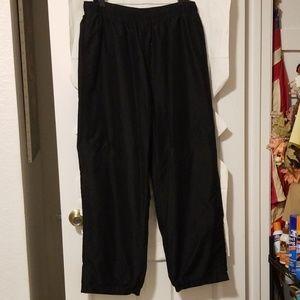 Tek Gear, Mens athletic pants, XL, EUC, black